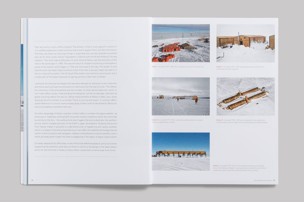 Ruth Slavid (text), James Morris (photographs) Ice Station: The Creation Of  Halley Vi Britain's Pioneering Antarctic Research Station Park Books, 2015